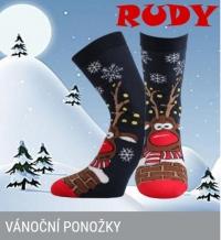 ... Vánoční ponožky RUDY se sobem Rudolfem 19408d1dcc